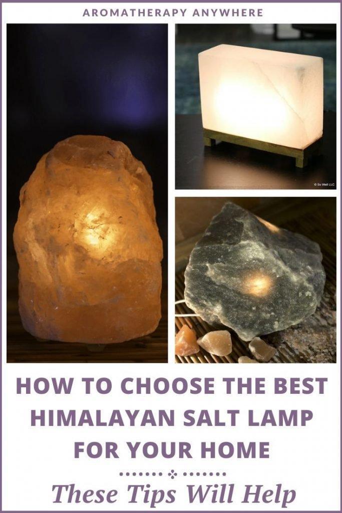 himalayan salt lamp collage