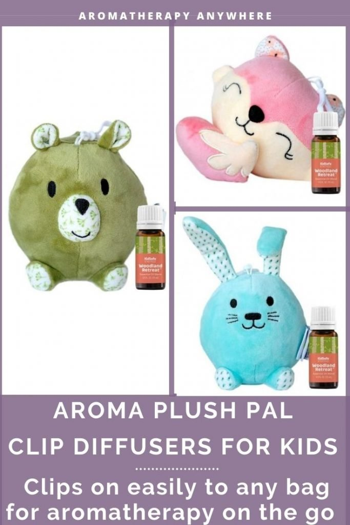 aroma plush pal clipon diffusers for kid