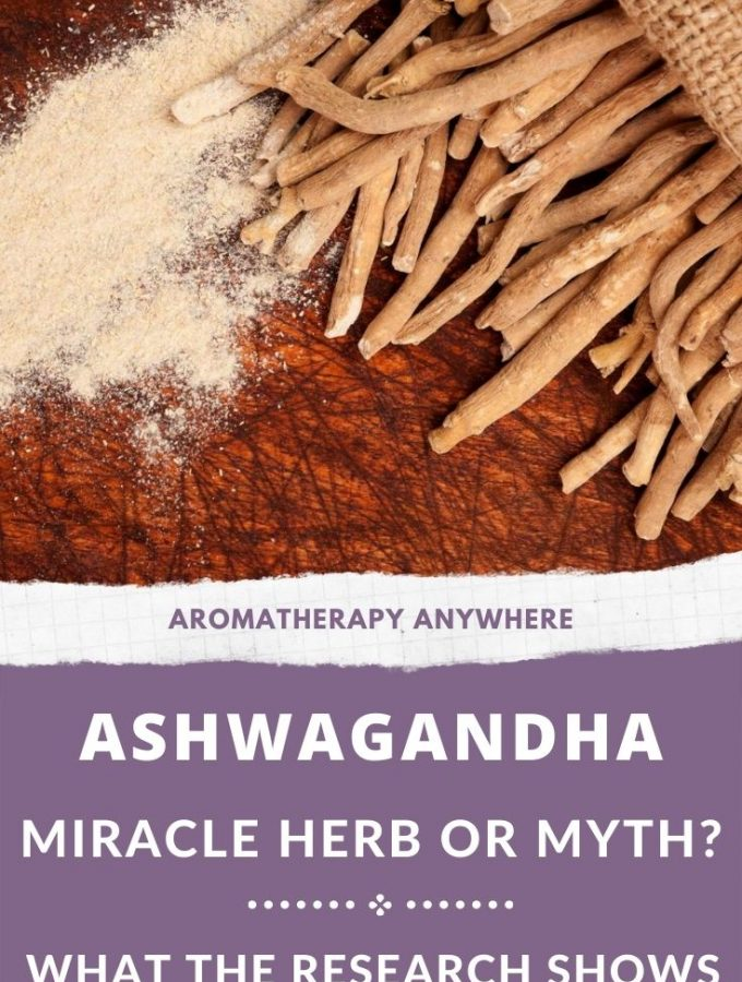 ashwagandha root + powder